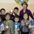 Татьяна Верко со своими воспитанниками
