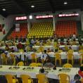 Вид турнирного зала