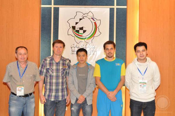 Шахматная сборная Казахстана на Кубке Азиатских Наций 2014 года в Иране