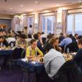 Жансая в турнирном зале Гибралтара 2014