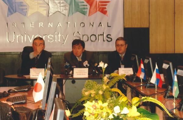 Пресс-конференция Студенческого Чемпионата мира по шахматам 2008 года