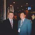Булат Асанов и Сергей Бубка