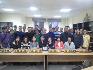 Общее фото участников блиц-турнира памяти Черепановой О.А.