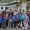 Общее фото участников сборов детской команды