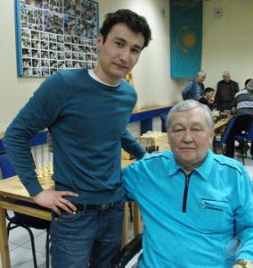 Бессменый спонсор турнира Амантай Куанышевич Булекпаев и Берик Аккозов