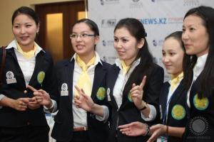 Сборная Казахстана перед стартом