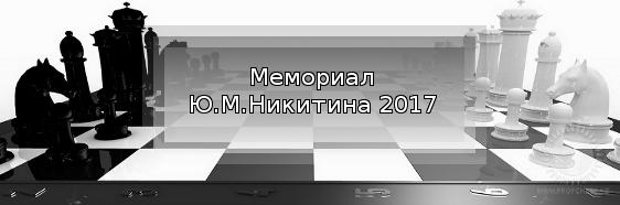 Мемориал Ю.М.Никитина 2017