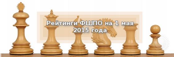Рейтинги ФШПО на 1 мая 2015 года.