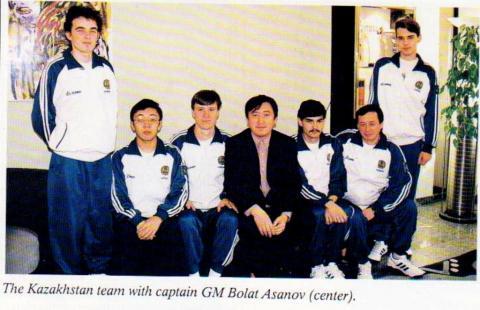 Сборная Казахстана на Командном Чемпионате Мира 1997 года